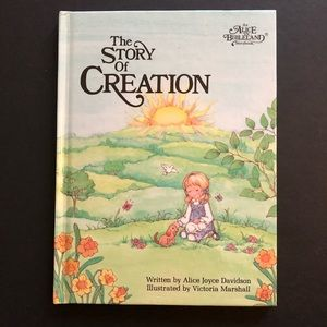 5/$25 VTG The Story Of Creation Alice In Bibleland